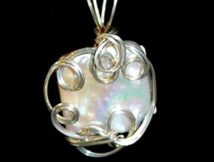Paragon Pearl Pendant in Sterling Silver $179