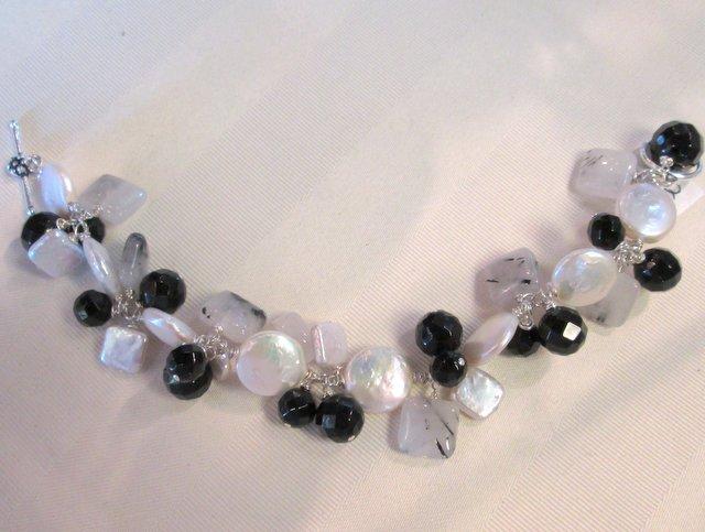 Onyx, CFWP, Quartz Bracelet $325