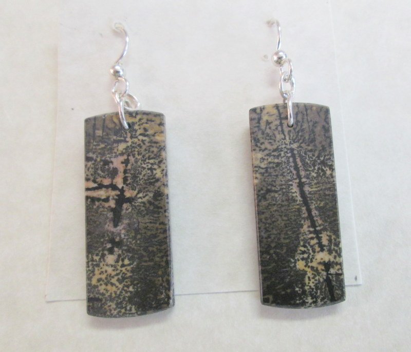 Picture Jasper Earrings 49.00